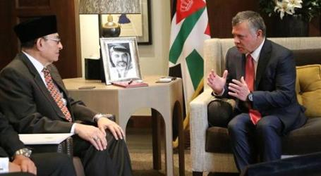 KING RECIEVES INDONESIAN PRESIDENT'S SPECIAL ENVOY