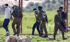 11 PALESTINIANS ARRESTED IN WEST BANK