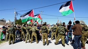 IOF QUELLS WEEKLY MARCH OF MASARAH VILLAGE
