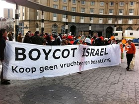 LAWSUIT AGAINST THE BELGIAN GOVERNMENT TO BOYCOTT ISRAEL