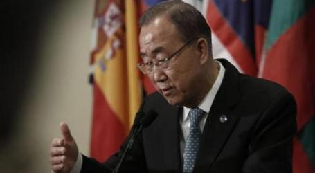UN CHIEF SLAMS ISRAEL FOR SUFFERING OF GAZA CHILDREN