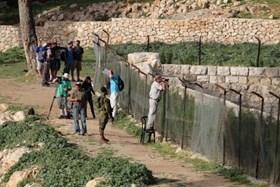 ISRAELI SETTLERS STORM BETHLEHEM'S BURAK SULEIMAN