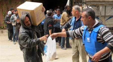 UN URGES AID ACCESS TO SYRIA'S YARMOUK