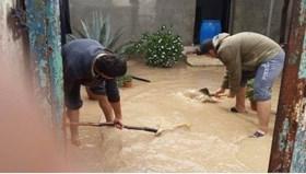 FLOODING HITS PALESTINE AL KHALIL