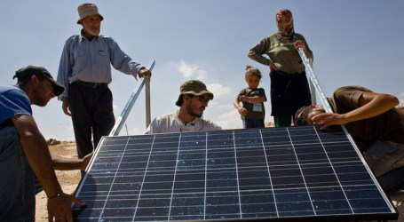 GAZA TO GET 30 MEGAWATTS OF SOLAR ENERGY
