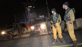 FOUR ARRESTED DURING ISRAELI RAID IN NABLUS