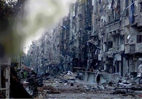 SECURITY COUNCIL CALLS FOR HALTING ATTACKS AGAINST YARMOUK CAMP