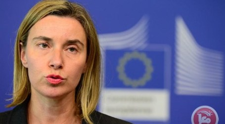 MOGHERINI CALLS FOR RESUMING PALESTINIAN-ISRAELI PEACE PROCESS