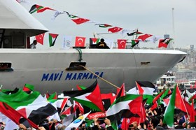 TURKEY MARKS ANNIVERSARY OF FREEDOM FLOTILLA MASSACRE