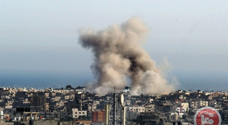 ISRAEL LAUNCHES STRIKES ACROSS THE GAZA STRIP