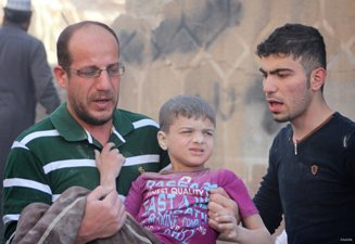 10 KILLED IN AIR RAID ON ALEPPO SCHOOL