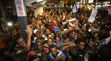 ETHIOPIAN JEWS PROTEST ISRAEL POLICE BRUTALITY