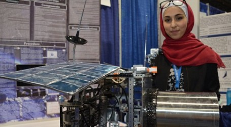 A 15 YEAR OLD JORDANIA STUDENT MADE A SATELLITE