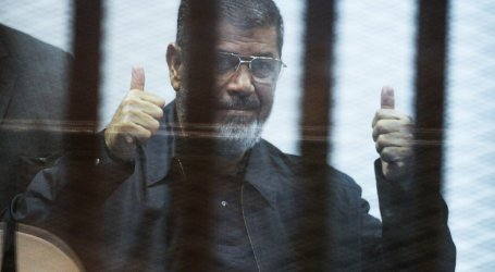 EGYPT'S JAILED PRESIDENT HINTS AT POISONING ATTEMPT