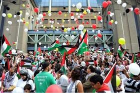 ISTANBUL: FREE JERUSALEM MARCH REMEMBERS MAVI MARMARA