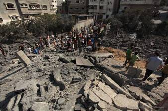 ISRAELI SETTLEMENT ECONOMY NEAR GAZA ON BRINK OF COLLAPSE