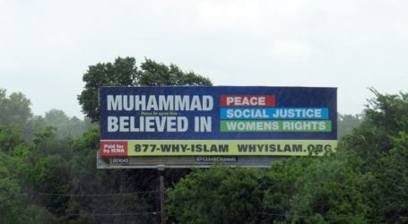ICNA BILLBOARDS DISPEL ISLAM MISCONCEPTIONS