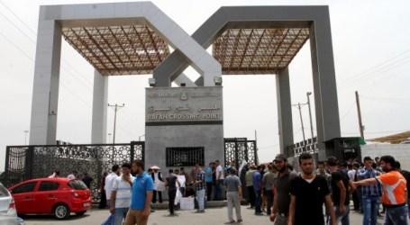 EGYPTIAN AUTHORITIES OPEN RAFAH CROSSING WITH GAZA