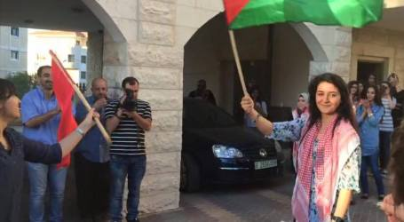 LINA KHATTAB RELEASED AFTER 6 MONTHS IN ISRAELI JAIL