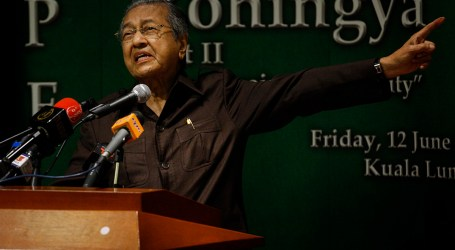 EXPEL MYANMAR FROM ASEAN, SAYS MAHATHIR