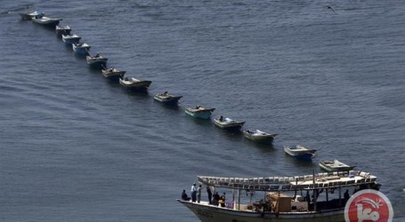 6 PALESTINIAN FISHERMEN RELEASED BY ISRAELI FORCES