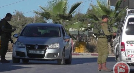 ISRAELI FORCES DETAIN PALESTINIAN, DELIVER SUMMONS IN BEIT UMMAR