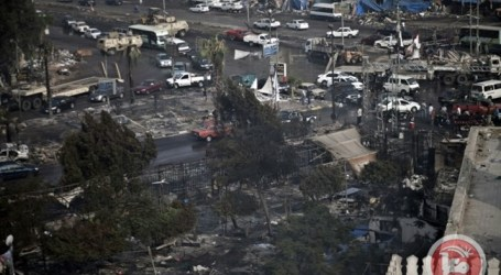 EGYPT RENAMES DEADLY PROTEST SITE AFTER MURDERED PROSECUTOR