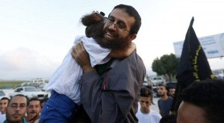 ISRAEL FREES PALESTINIAN STRIKER KHADER ADNAN