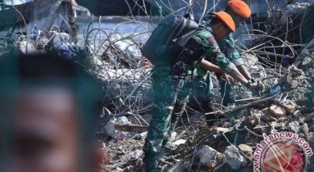 INDONESIAN DVI TEAM STOPS IDENTIFICATE BODIES OF PLANE CRASH VICTIMS