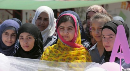 NOBEL WINNER MALALA OPENS SCHOOL FOR SYRIAN GIRLS