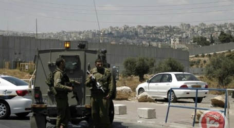 ISRAELI FORCES CLOSE MAJOR NORTHERN WEST BANK CHECKPOINT