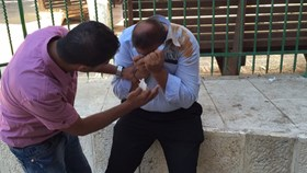 ISRAELI SOLDIERS ASSAULT CHILDREN AND AL-AQSA GUARDS