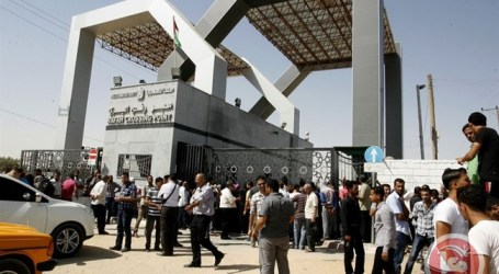 EGYPT TO OPEN RAFAH CROSSING FOR 4 DAYS