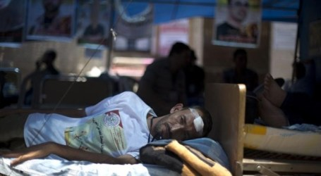 PALESTINIAN HUNGER STRIKER MOVED TO ISRAELI MEDICAL CENTER