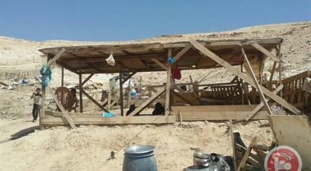 ISRAELI FORCES DEMOLISH 12 TENTS NEAR JERICHO