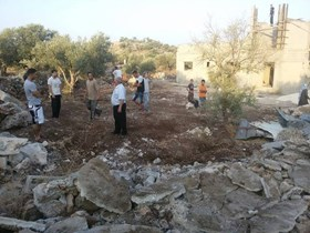 ISRAEL SOLDIERS DEMOLISH PALESTINIAN HOME NEAR WEST BANK DISTRICT