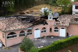 FRENCH PRESIDENT DEPLORES MOSQUE ARSON