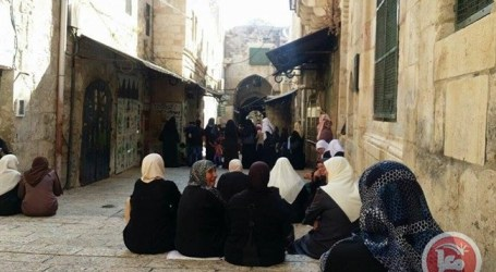 ISRAELI RESTRICTIONS AROUND AL-AQSA CONTINUE FOR 4TH DAY