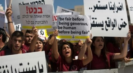 PALESTINIAN CHRISTIAN SCHOOLS END STRIKE AFTER TEMPORARY AGREEMENT
