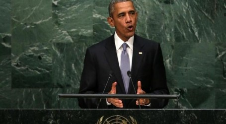 OBAMA IGNORES PALESTINIAN CAUSE IN HIS UN SPEECH