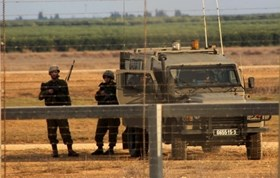 ISRAELI FORCES TARGET SITE IN NORTHERN GAZA