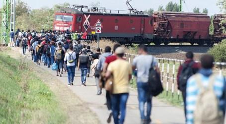 HUNGARY IN STATE OF EMERGENCY, REFUGEES WALK TO CROATIA