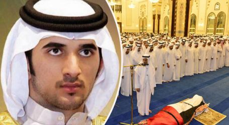 UAE IN 3-DAYS MOURNING AS DUBAI RULER'S SON PASSES AWAY