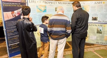 MORE THAN 700 PEOPLE  VISITED  ISLAMIC CENTRE IN ENGLAND