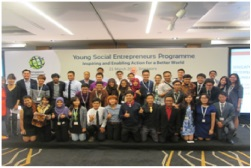 INDONESIAN TEAM WON YOUNG SOCIAL ENTREPRENEURS SINGAPORE