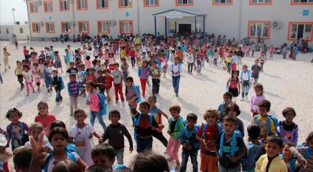 ABOUT '260,000 SYRIAN CHILDREN' GET EDUCATION IN TURKEY