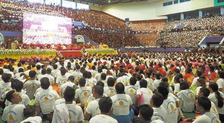 MYANMAR ANTI-MUSLIM MONKS MEET TO DEFEND NEW RACE LAWS