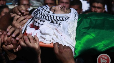 THOUSANDS ATTEND FUNERAL OF PALESTINIAN SHOOT DEAD IN HEBRON HOSPITAL