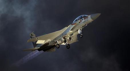 ISRAELI FIGHTER JETS BOMB BESIEGED GAZA STRIP