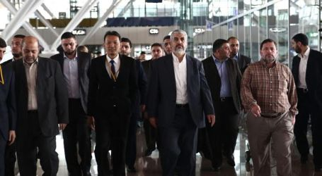 HAMAS' MESHAAL ARRIVES IN MALAYSIA TO STRENGTHEN TIES